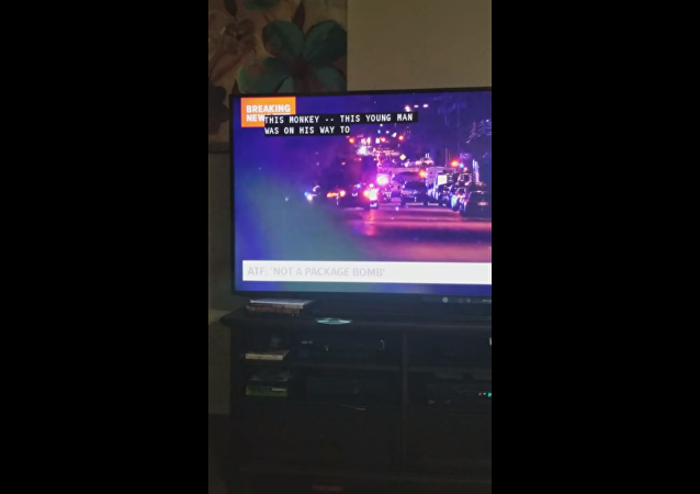 KVUE-TV's captioning firm refers to Austin bombing victim Draylen Mason as this monkey during newscast