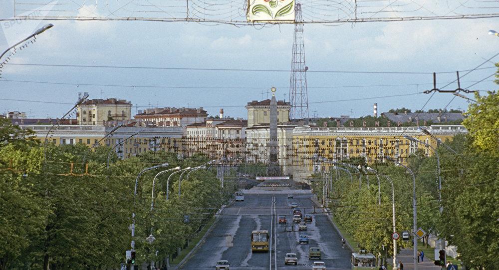 Minsk, the capital of Belarus