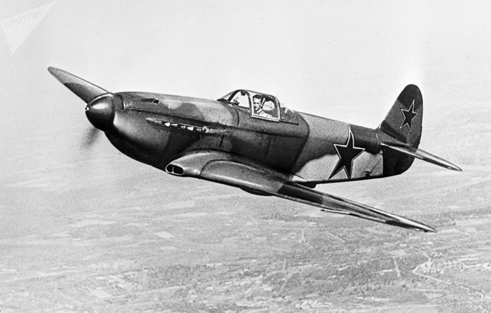 A Yak 3 fighter aircraft. (File)