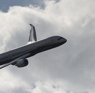 Boeing 787-9 Dreamliner at Farnborough 2014