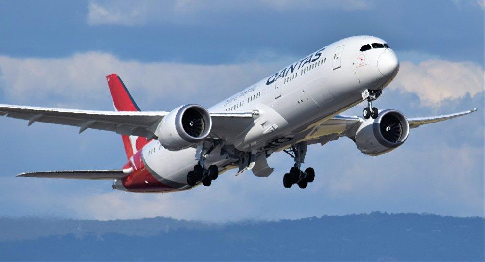 Qantas Boeing-787 Dreamliner