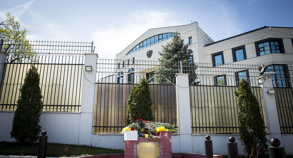 Russian Embassy in Chisinau. File photo