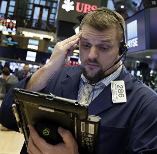 Financial Markets Fall Wall Street