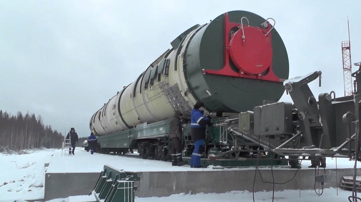 Russia's Sarmat ICBM