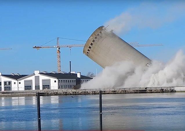 Sprængning i Vordingborg