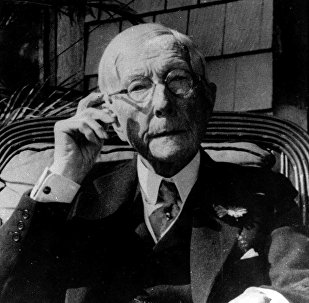 Oil magnate John D. Rockefeller is shown in this 1930 photo