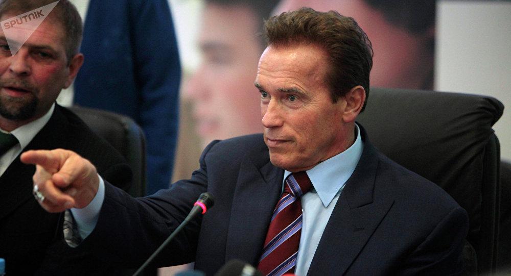 Arnold Schwarzenegger, file photo.