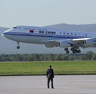 Air China aircraft (File)
