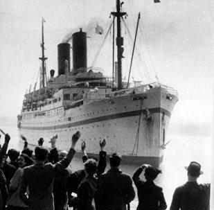 British troop ship Empire Windrush