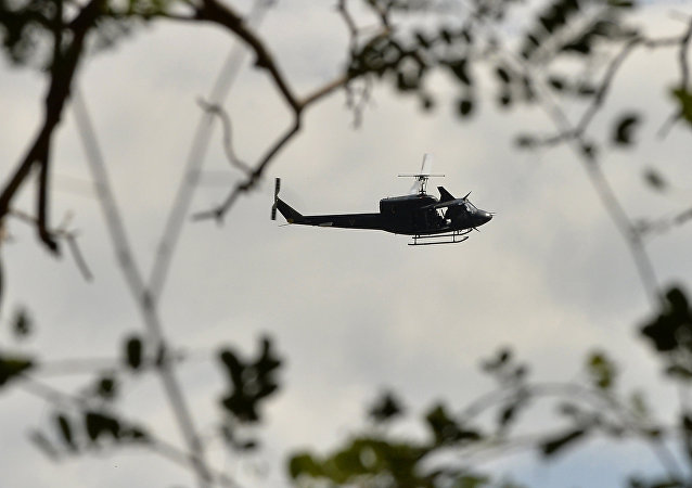 UH-1 helicopter. (File)