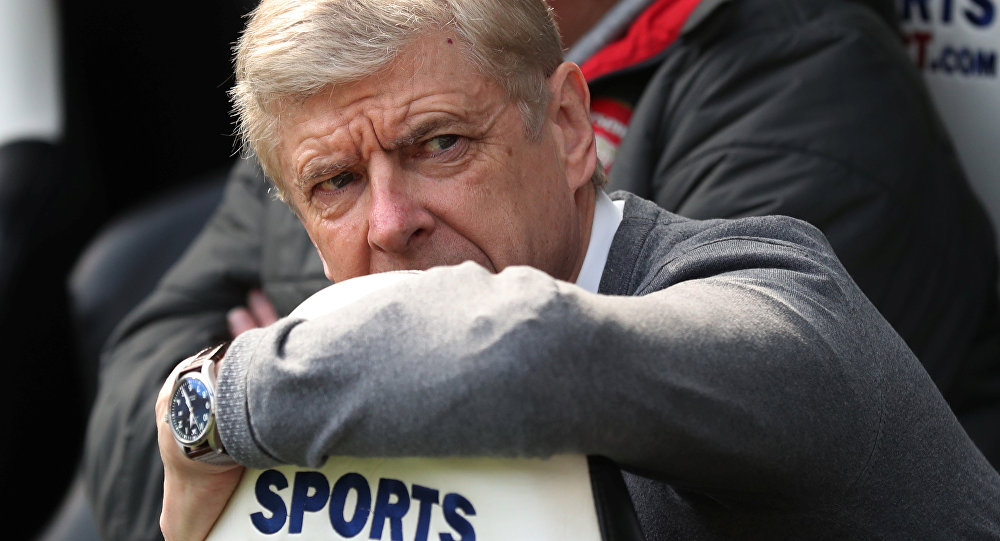 Soccer Football - Premier League - Newcastle United vs Arsenal - St James' Park, Newcastle, Britain - April 15, 2018 Arsenal manager Arsene Wenger before the match