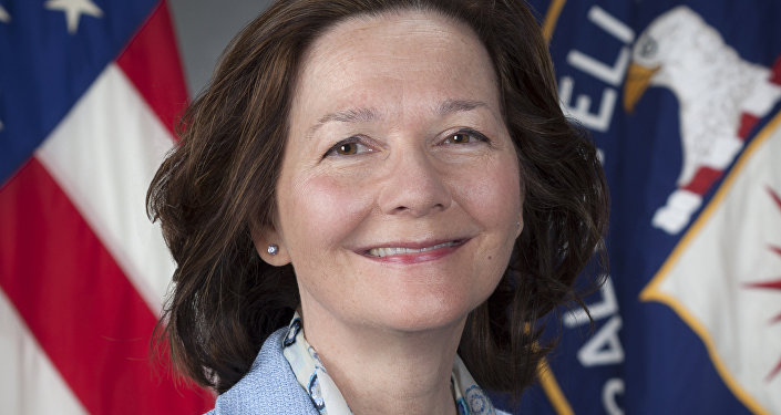 This March 21, 2017, photo provided by the CIA, shows CIA Deputy Director Gina Haspel