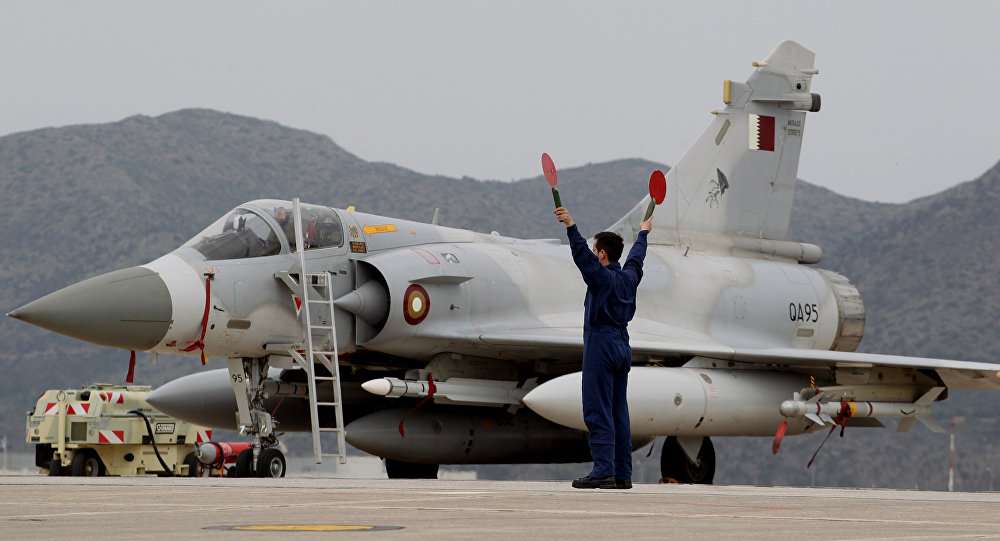 Qatari Air Force Mirage 2000 jet fighter (File)