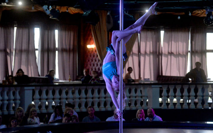 Pole Dancing Competition: Fusion of Acrobatics, Gymnastics and Theater