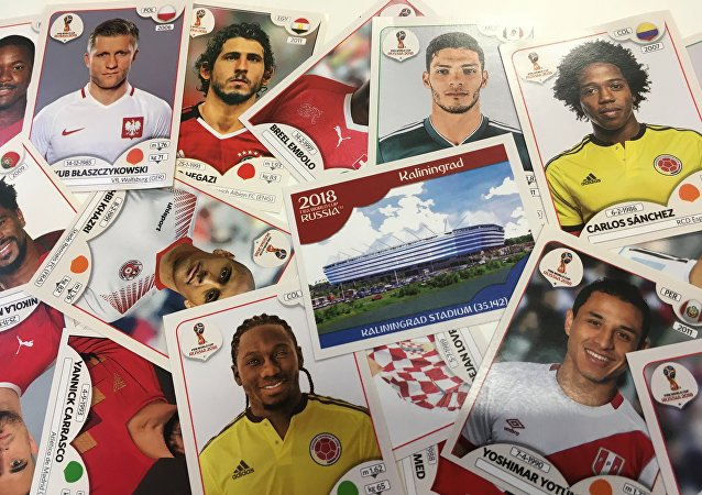 Russia World Cup 2018 Stickers
