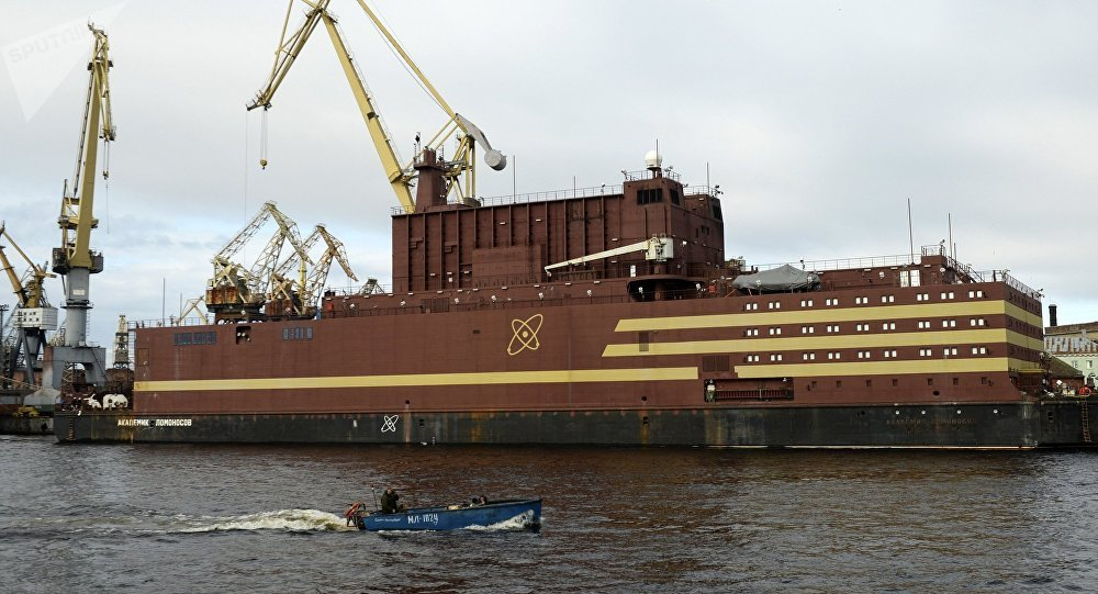 Russia's 'floating Chernobyl' nuclear power plant heads out to sea