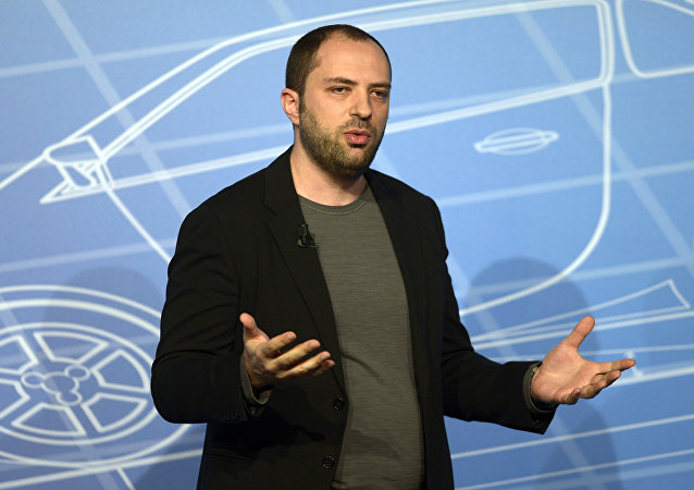 FILE - In this Monday, Feb. 24, 2014, file photo, Whatsapp co-founder and CEO Jan Koum speaks during a conference at the Mobile World Congress, the world's largest mobile phone trade show in Barcelona, Spain