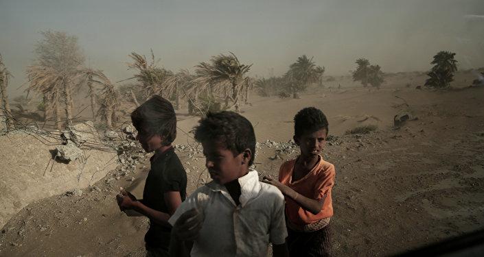 Homeless Children, Yemen