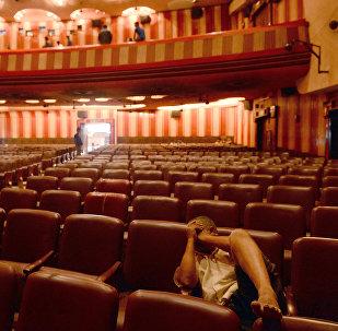 Movie Theatre in India (File)