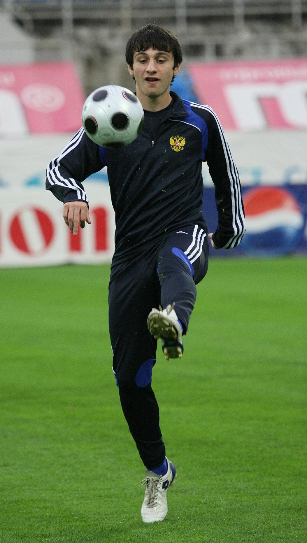 CSKA Moscow star Alan Dzagoev