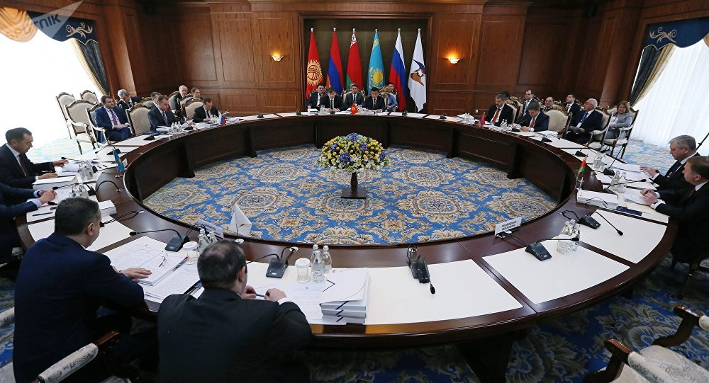 Restricted meeting of the Eurasian Inter-Governmental Council