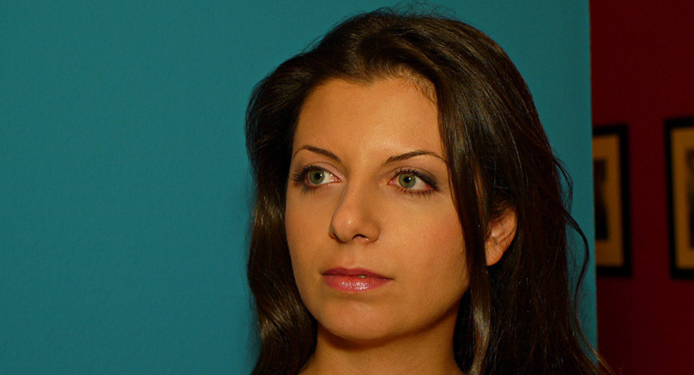 RT's editor-in-chief Margarita Simonyan