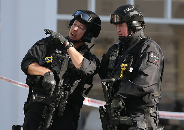 Armed British police officers (File)