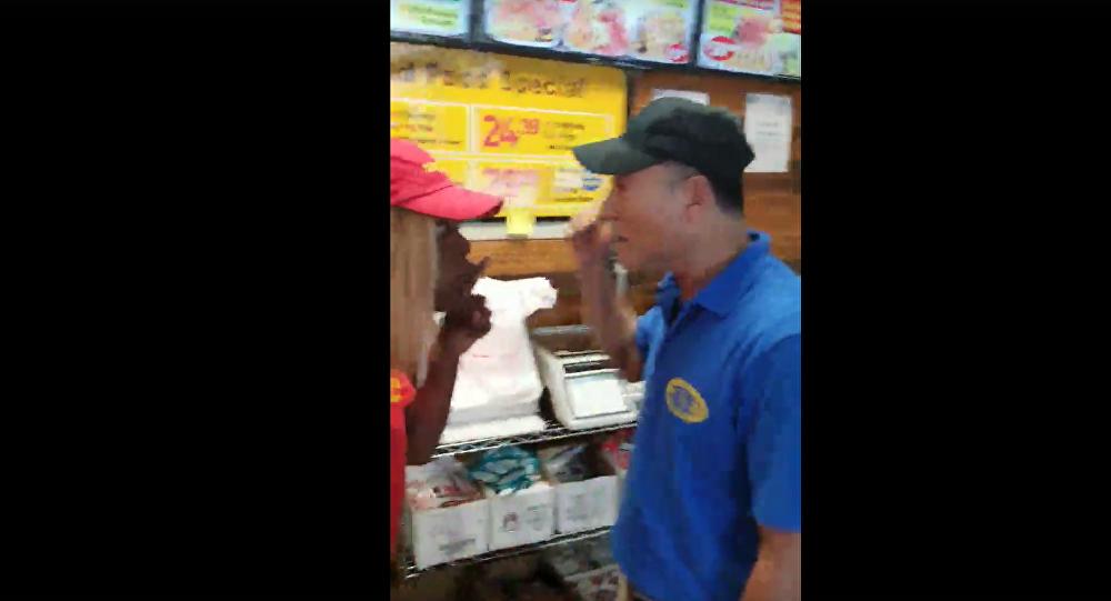 Asian Shop Owner Strikes Black Employee in Snellville, Georgia