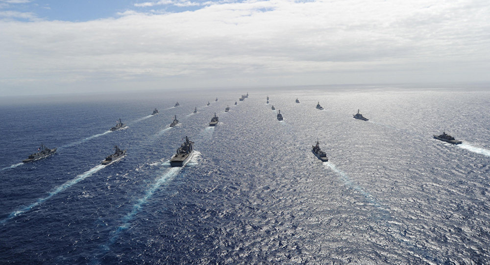 Navy Rim of the Pacific Exercise
