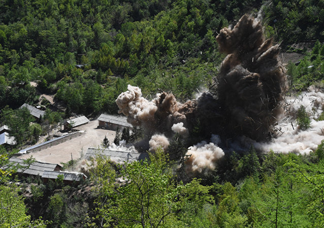 Dismantling of North Korea's Punggye-ri nuclear test site