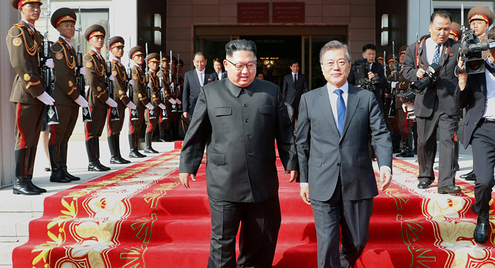 Koreas hold high-level talks ahead of Trump-Kim summit