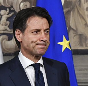 Italy's Prime minister candidate Giuseppe Conte leaves after a meeting with Italy's President Sergio Mattarella on May 27, 2018 at the Quirinale presidential palace in Rome. Italy's prime ministerial candidate Giuseppe Conte gave up on Sunday his mandate to form a government after talks with the president over his cabinet collapsed.