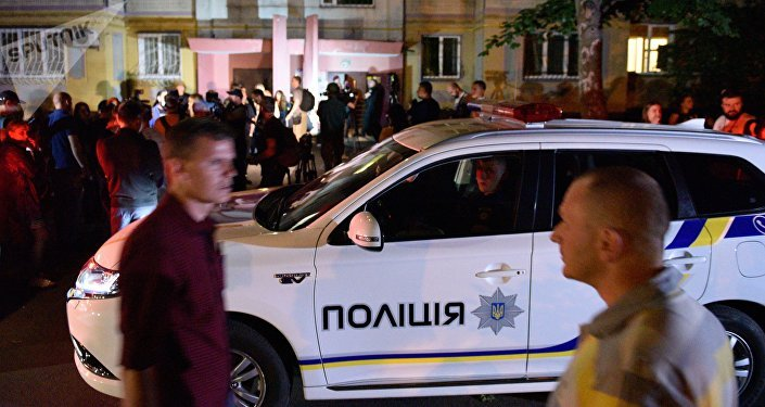 Ukraine: Reporter's fake murder involved swine blood, morgue