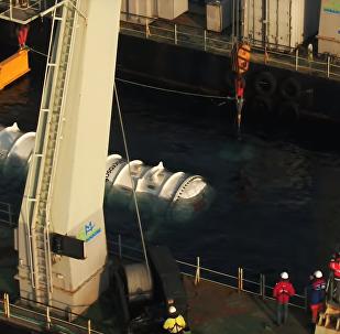 Microsoft Submarine Data Center