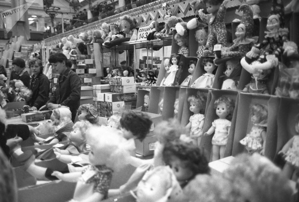 Sneak Peek of USSR's Leading Children's Store