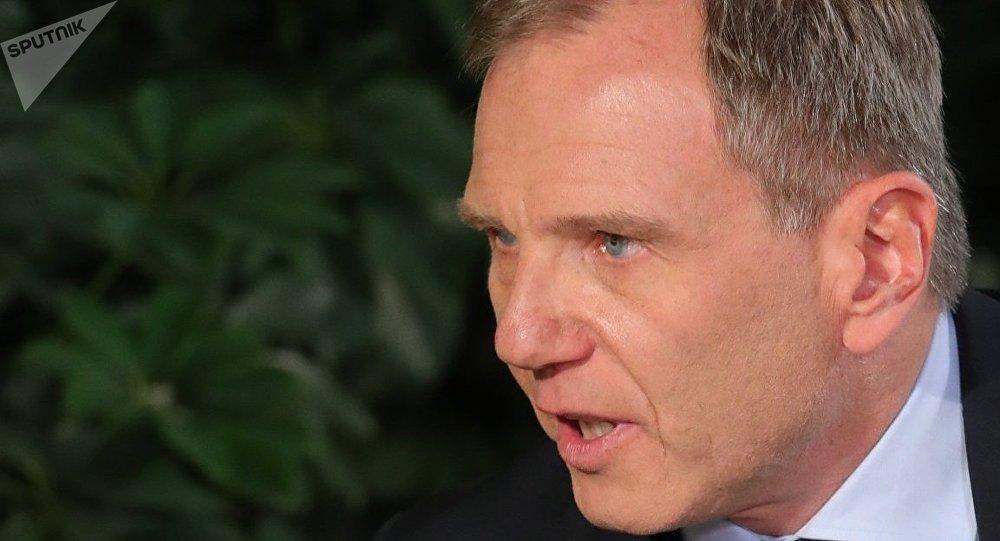 ORF-Reporter Armin Wolf interviewt den russischen Präsidenten Wladimir Putin