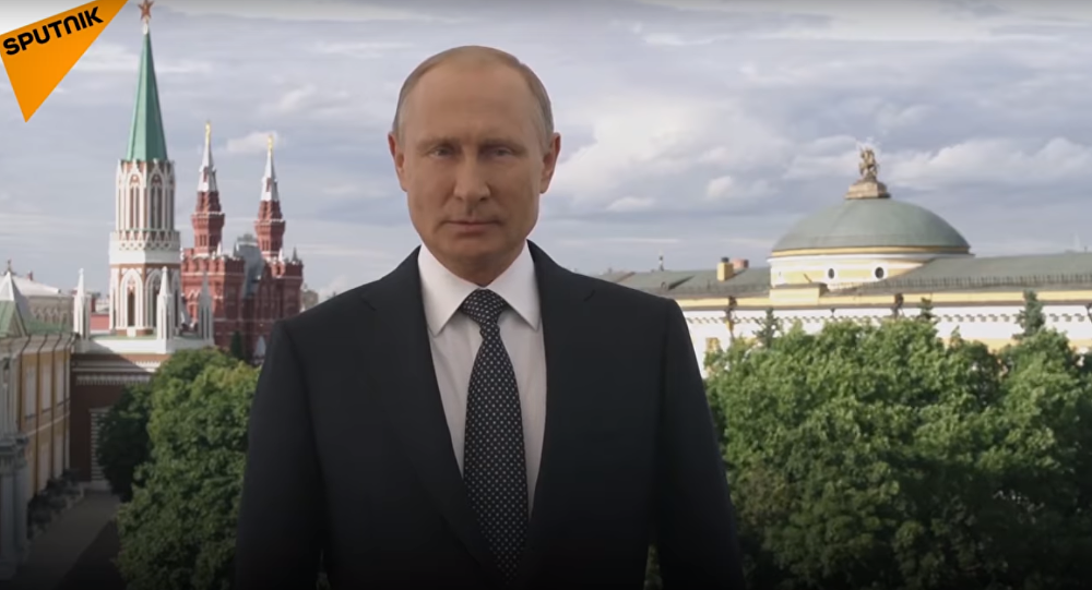 President Putin welcomes fans to the World Cup
