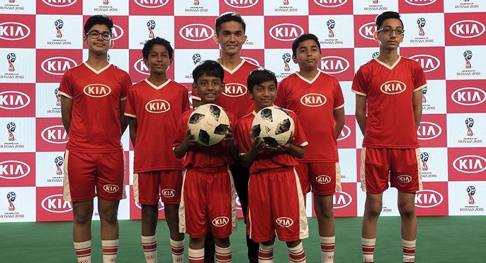 Kia Official Match Ball Carriers (OMBC) from India