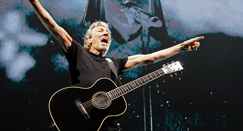 British musician Roger Waters performs at the Stadthalle in Vienna, Austria, on May 16, 2018