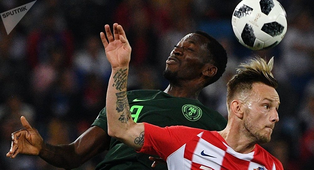 Croatia vs Nigeria in teams' first match at FIFA World Cup.