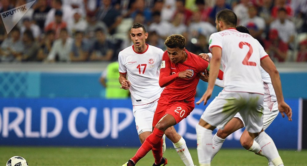 2018 World Cup, England-Tunisia
