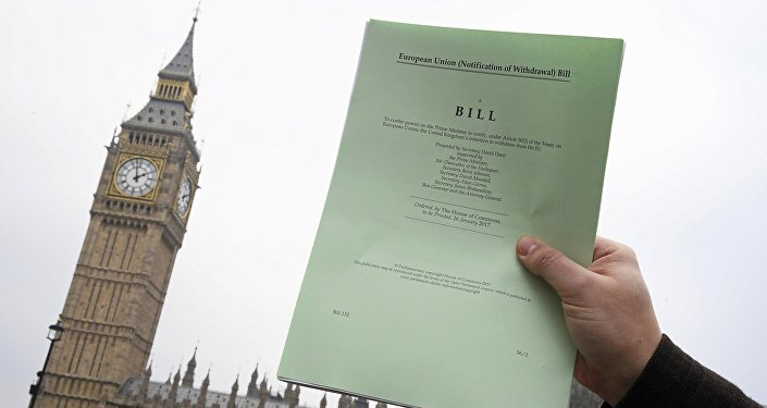 Brexit Article 50 bill