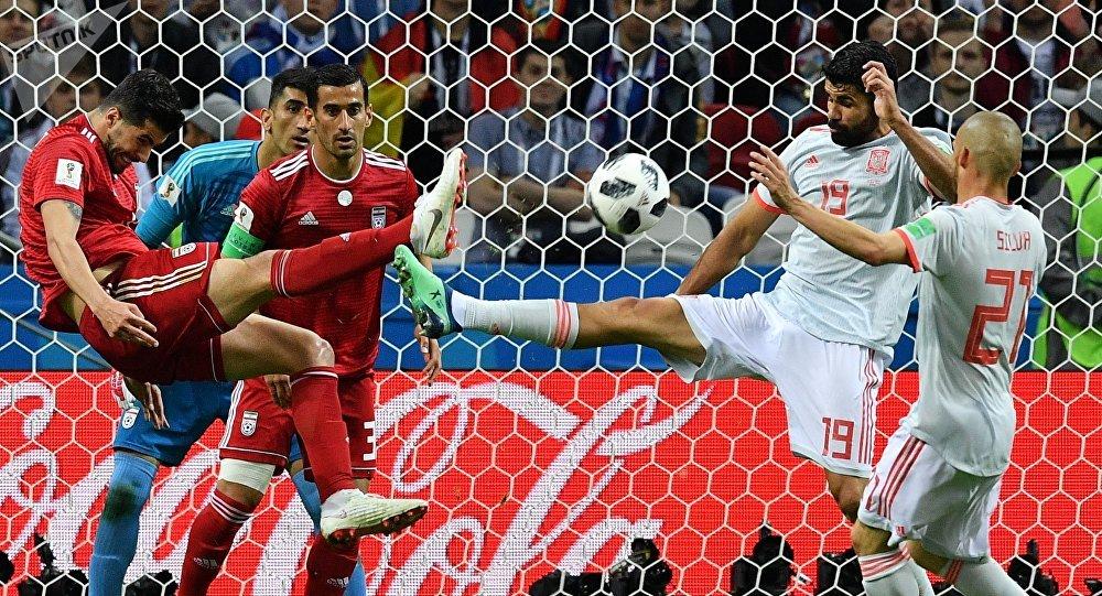 Iran - Spain World Cup 2018