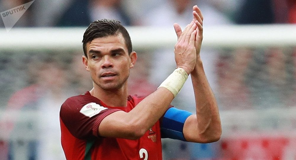 Twitter Ridicules Portugal's Pepe Over His Bizarre Dive in Game
