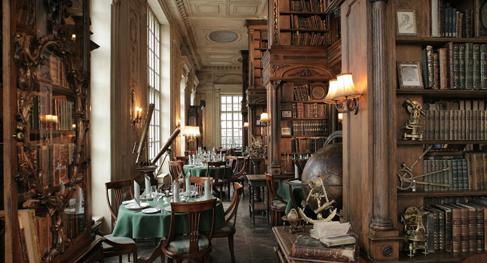 """Pushkin"" Russian Cuisine Restaurant's interior"