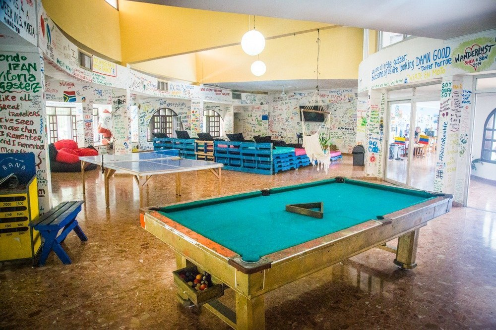 Drop Bear Hostel in Santa Marta, Colombia