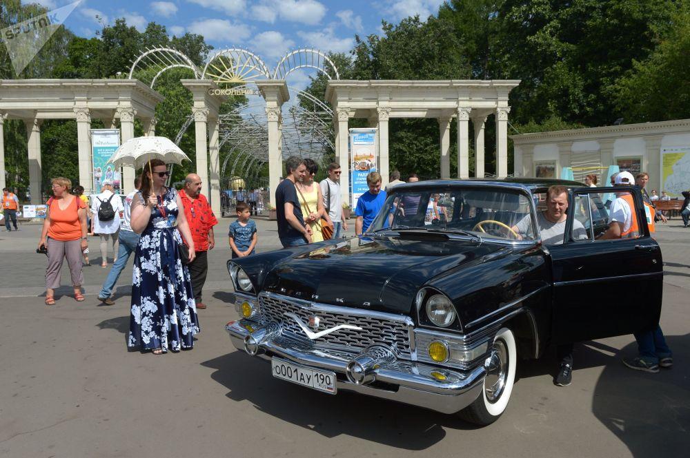 Bosch Moskau Klassik Vintage Car Rally