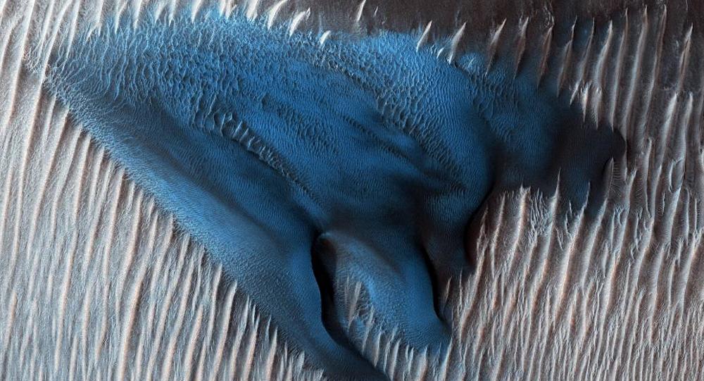 NASA sand dune