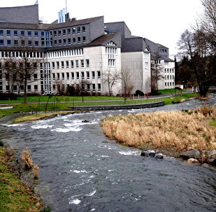 Henne river in Meschede, Germany (File)