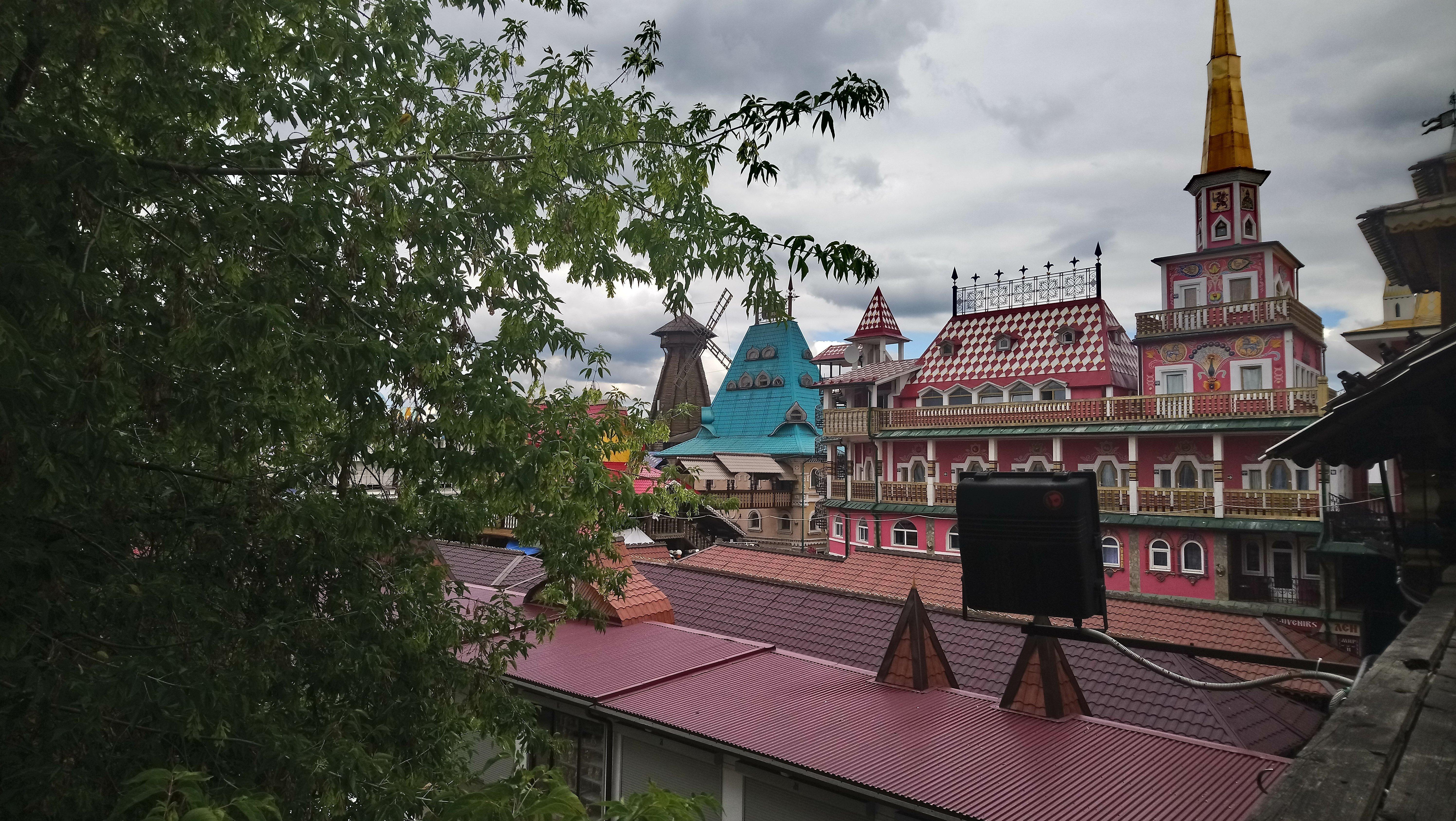 Izamailovo Kremlin in Moscow